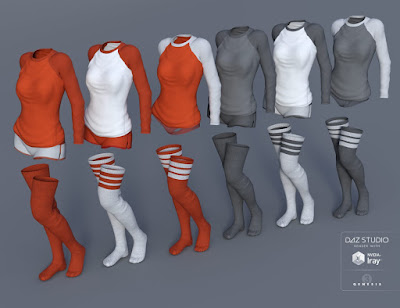 Sweet Home Outfit for Genesis 3 Female