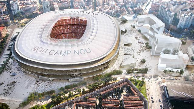 El naming se presenta clave para el nuevo Camp Nou