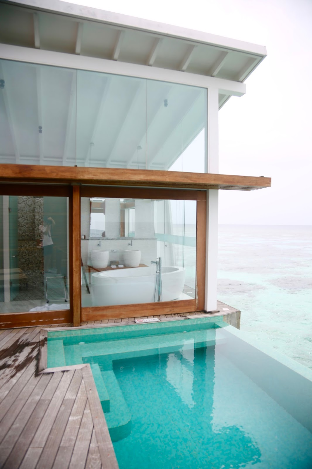 Ocean Pool Villa  maldives