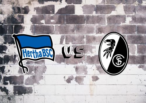 Hertha BSC vs Freiburg  Resumen