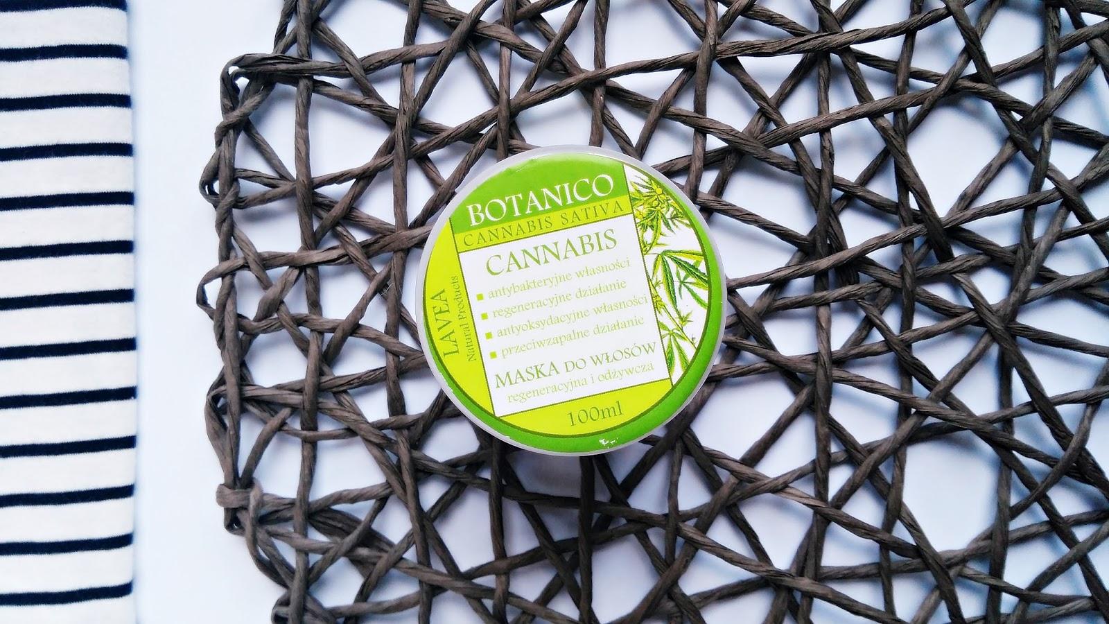 Lavea Botanico Cannabis maska do włosów z ekstraktem z konopi