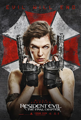 Resident Evil: The Final Chapter Movie Poster 4