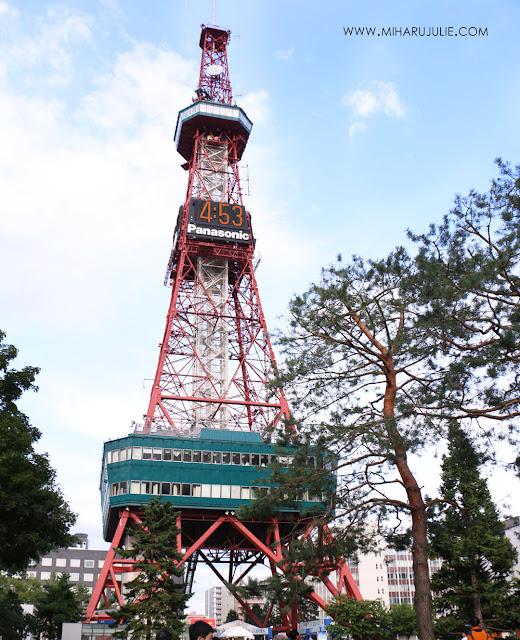 sapporo tv tower hokkaido