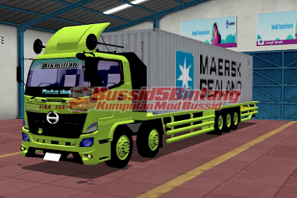 Mod Bussid Hino Container