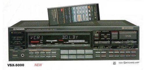 PIONEER VSX-5000 (1986)