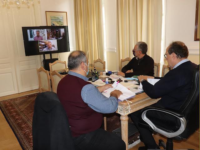 Τηλεδιάσκεψη για το θέμα των απορριμμάτων στον Δήμο Ερμιονίδας