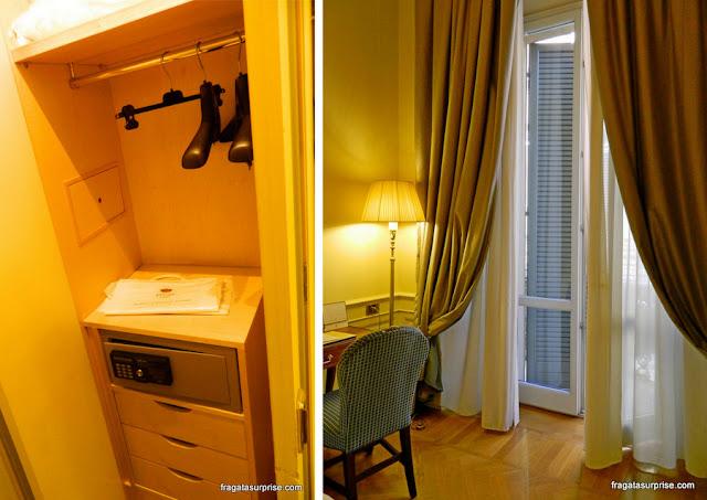Apartamento do Hotel Corona d'Oro, em Bolonha, Itália