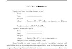 Format Surat Keterangan Hibah Antapediacom