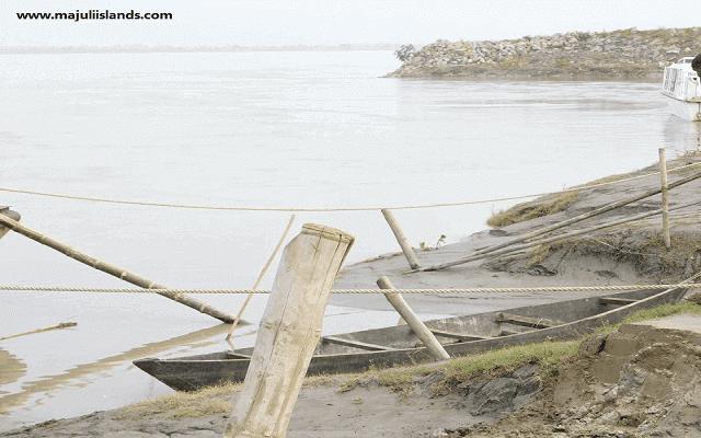 Boat Of Majuli Island