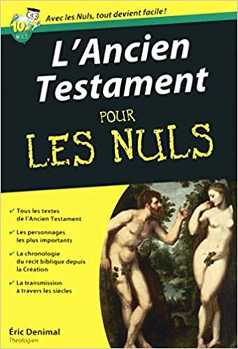 Télécharger L'Ancien testament Poche pour les Nuls pdf
