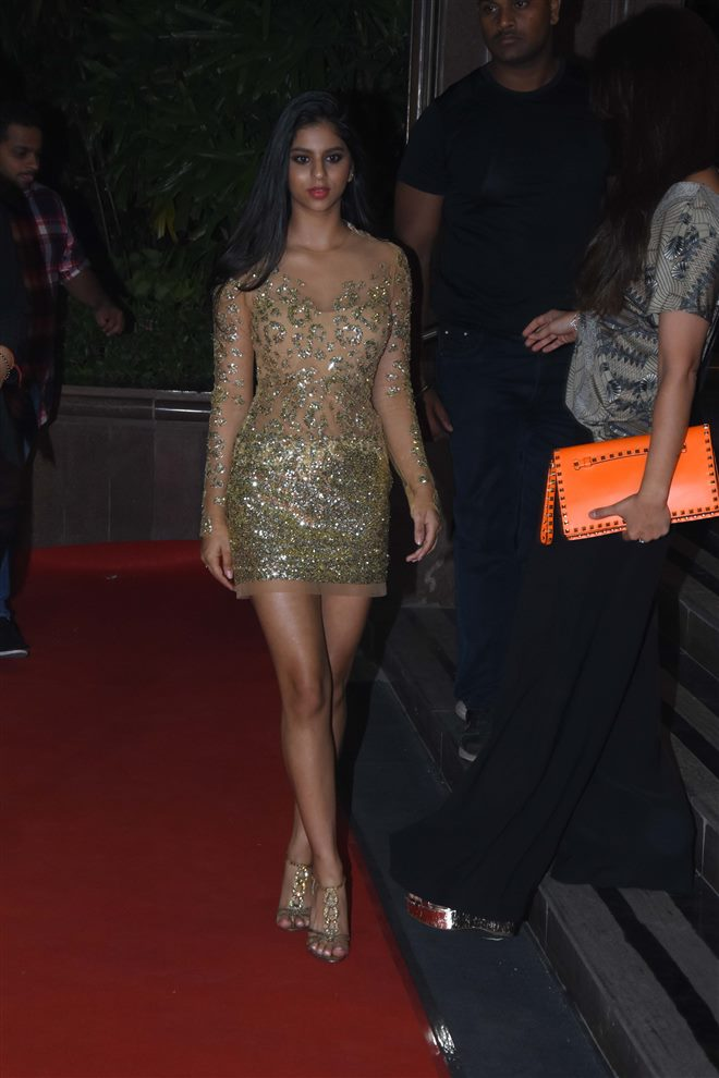 Suhana Khan at Gauri Khan Grand Hallowen Party in Mumbai