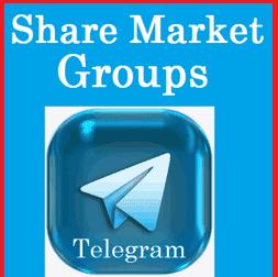 Best Share Market Telegram group links (Intraday Trading)