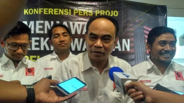 Kecewa, Projo Singgung Bekerja Memenangkan Jokowi jadi Tokoh Nasional seperti Sekarang