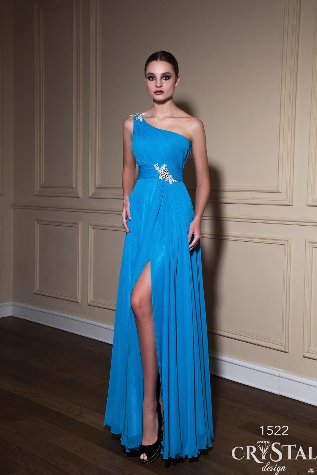 Vestidos de noche elegantes 2014