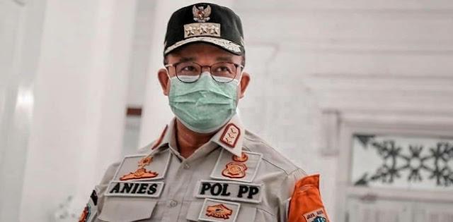 PSBB Diperpanjang, Anies Ingatkan Sanksi Pelanggar Bersifat Progresif