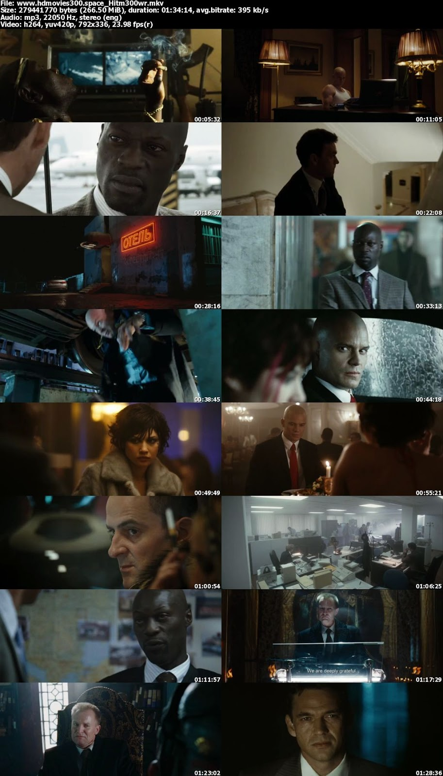 Hitman 2007 English 480p 250mb Brrip Mkv Download Full Movie