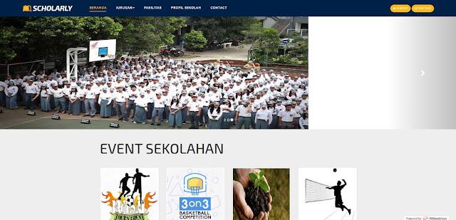 Source Code Website Sekolah dengan Fitur Lengkap