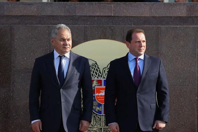 Armenia y Rusia firman cooperación en defensa para 2020