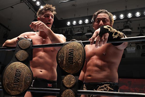 Taichi e Zack Sabre Jr reconquistam o IWGP Heavyweight Tag Team Championship