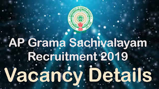 AP Grama Sachivalayam Posts Details
