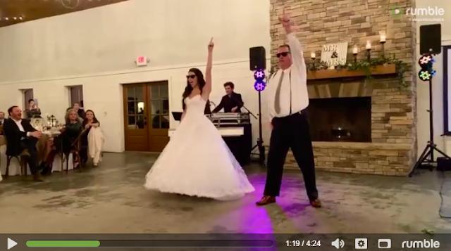 Viral:Απόλυτα διασκεδαστικό video πατέρα και κόρης με χορευτικά-Απολαύστε το
