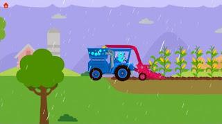 Game Dinosaur Farm Free - Tractor App