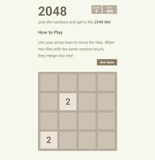 Online Responsive 2048 Game Script For Blogger Download(Premium+Direct Link)