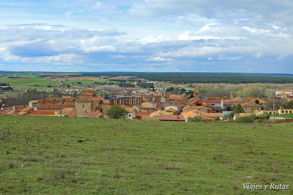 Vistas de Almazán desde el Cinto