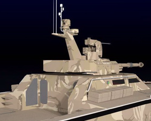 Tinuku Pindad, Lundin and CMI Defence has completed X18 Tank Boat Antasena design and slid 40 knots in swamp