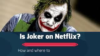 NETFLIX TRICK By Joker