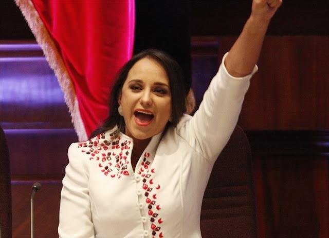 Gabriela Rivadeneira gastó USD 9.8 millones durante su presidencia en la Asamblea Nacional