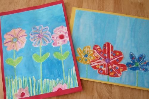 6 Simple Summer Art Projects for Kids #artforkids #artprojects #summerbucketlist