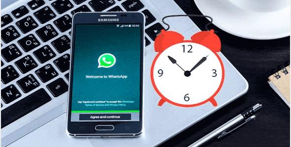 كيفية جدولة رسائل ال WhatsApp على أندرويد وآيفون
