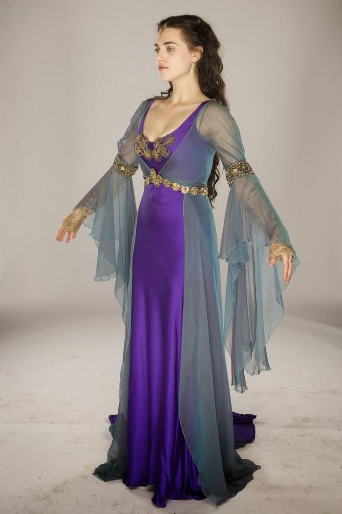 The Little Gown Merlin BBC Srie  Dress N1