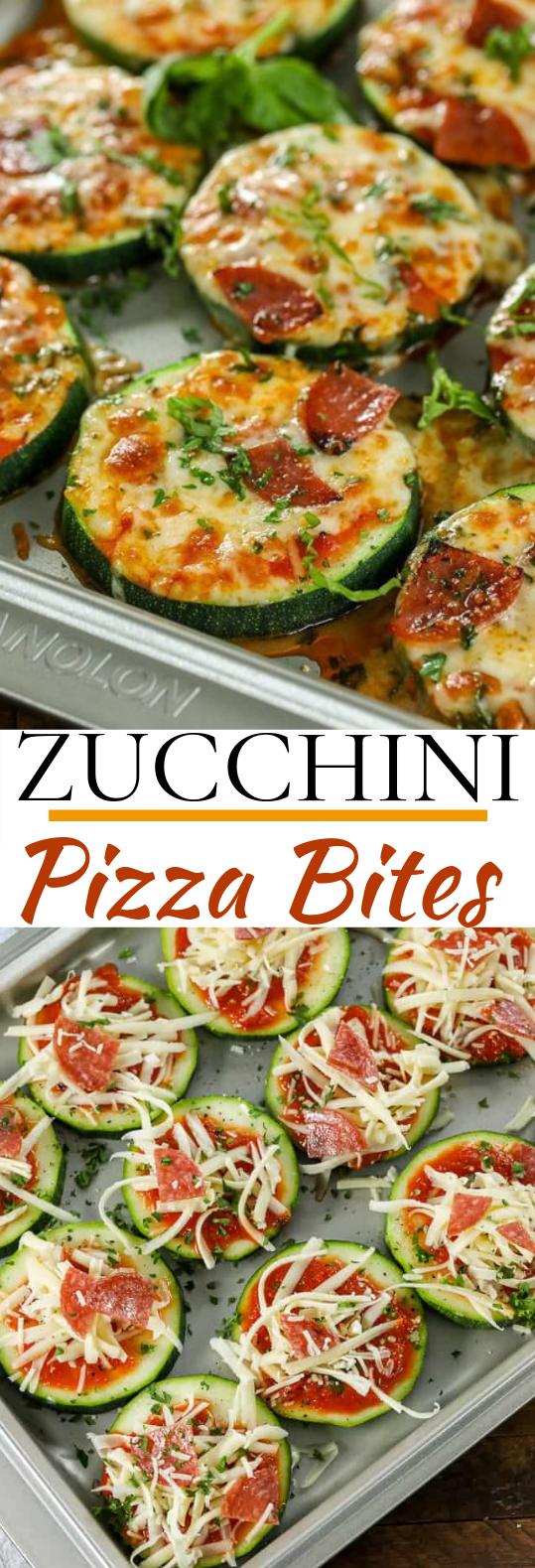 Zucchini Pizza Bites #keto #snacks