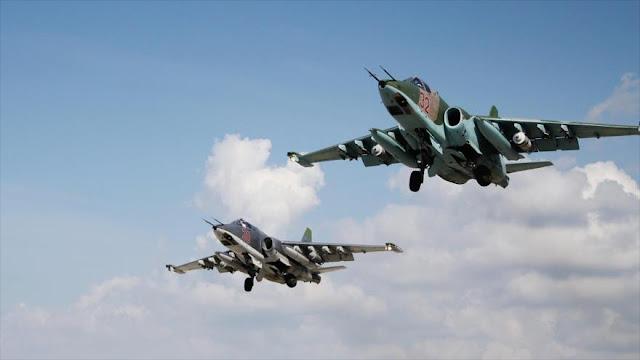 Rusia demuele en 7 días más de mil objetivos terroristas en Siria