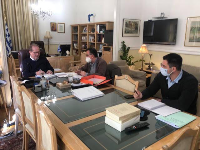 Σύσκεψη για την Πολιτική Προστασία στην Περιφέρεια Πελοποννήσου