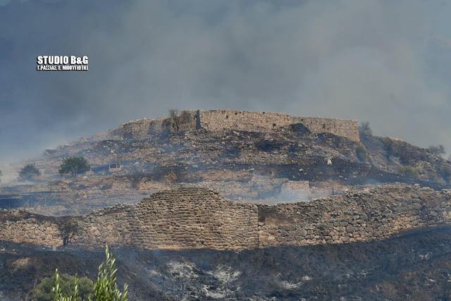 Τραγικές εικόνες ;από την πυρκαγιά στις Μυκήνες