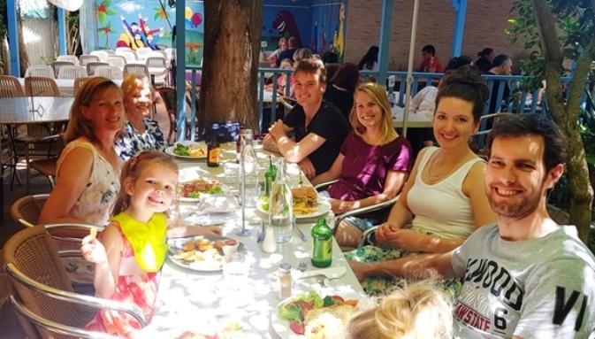 Family birthday lunch