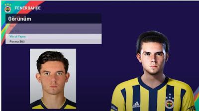 PES 2021 Faces Ferdi Kadioglu by PES Football Turkey