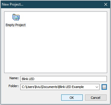 Programmer's Notepad make project folder