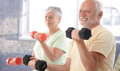 5 Cara Membangun Massa Otot Di Usia Tua