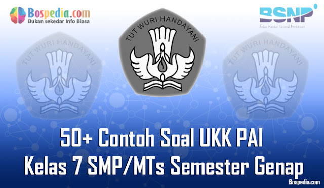 50+ Contoh Soal UKK PAI Kelas 7 SMP/MTs Semester Genap Terbaru