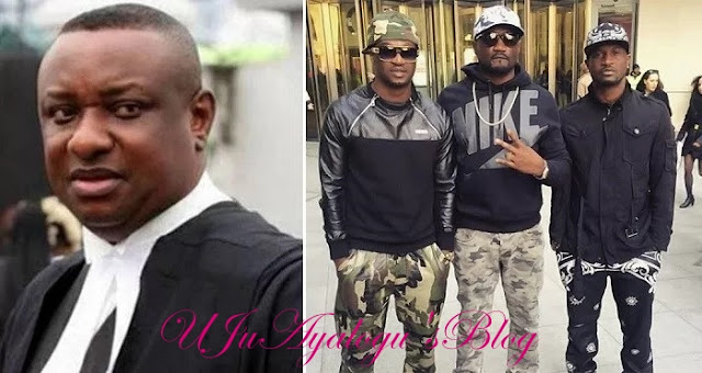 """The Video is fake"" – Psquare's Lawyer, Festus Keyamo Reacts To Viral 'Fight' Video."