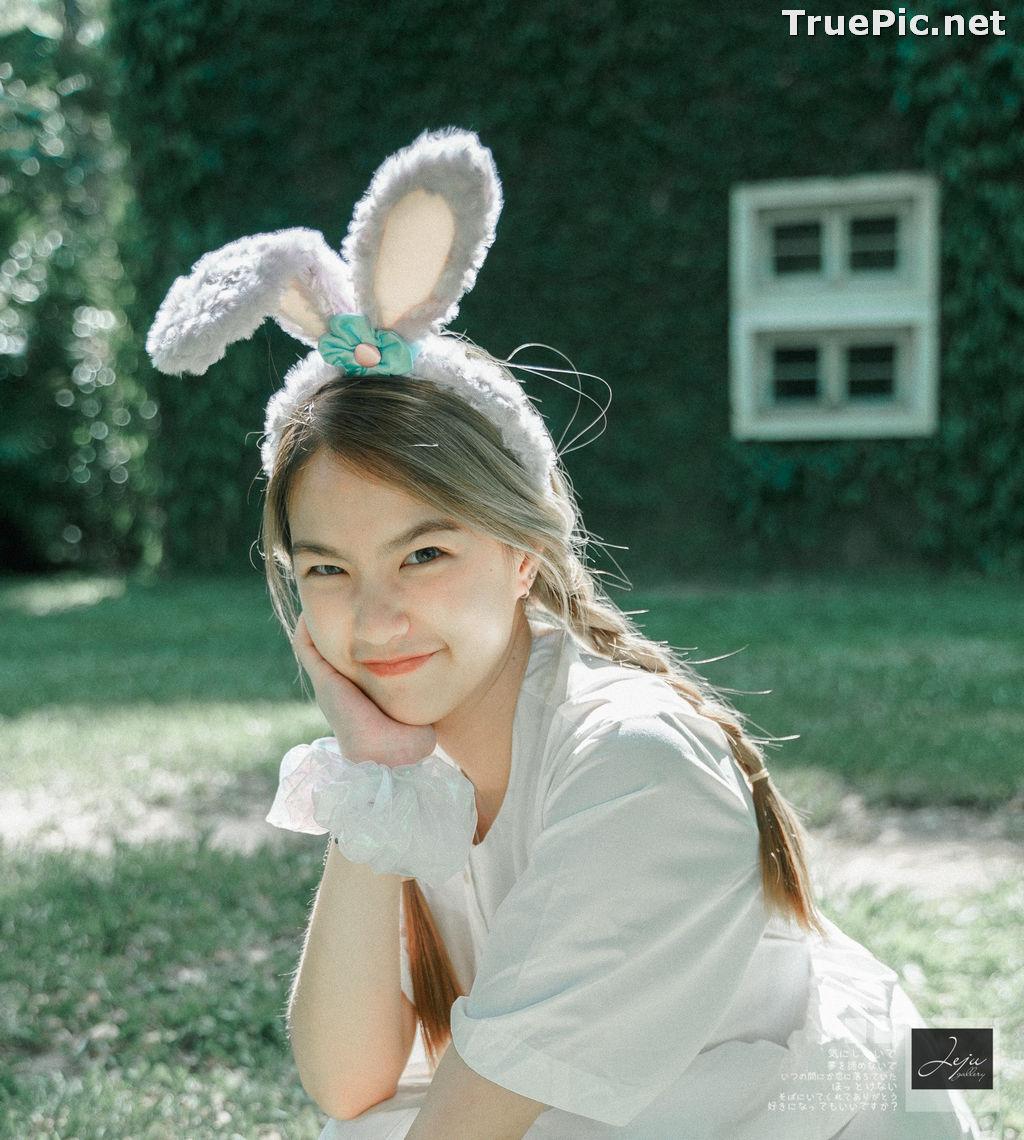 Image Thailand Cute Model - Napat Cdhg - Gam Bunny Girl - TruePic.net - Picture-1