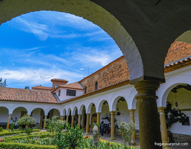 Claustro do Mosteiro de Ecce Homo, Colômbia