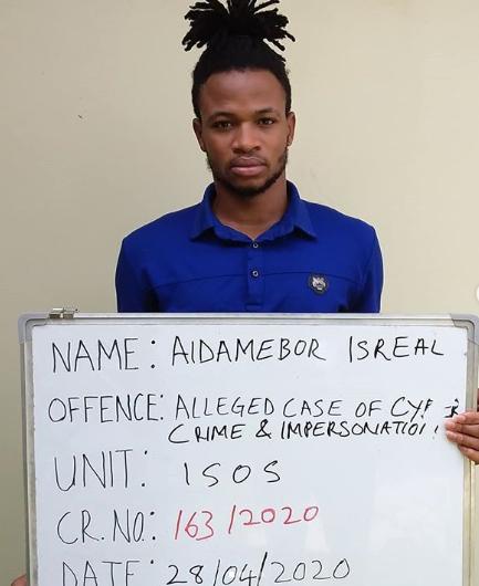 Photos: Internet fraudsters bag two years jail term in Kaduna