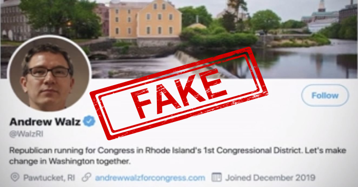 A Fake US Congressional Candidate Invented By A Teenager : Twitter Verified