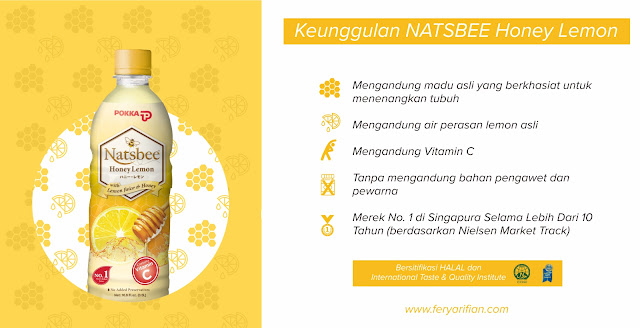 Natsbee Honey Lemon - feryarifian.com