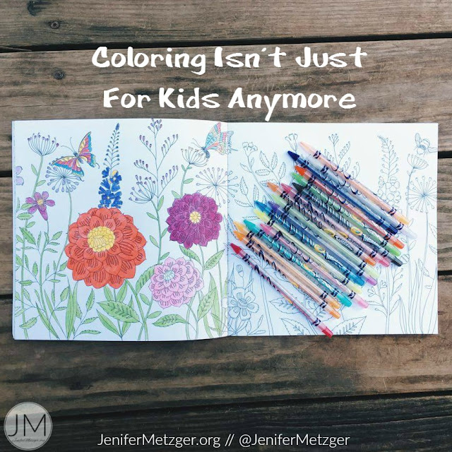 Coloring isn't just for kids anymore! #adultcoloringbook #coloring #zondervan #zonderkidz